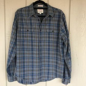 Lucky Brand Classic Fit Plaid Shirt  size Medium